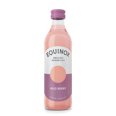Kombucha te Raw Wild Berry Øko - 250 ml.