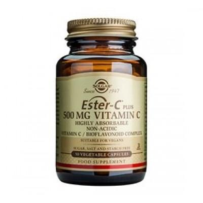 Solgar Ester C-Vitamin Plus 500 mg (50 vegicaps)