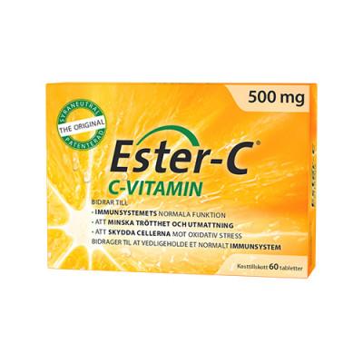 Ester-C Super 500mg (60 tabletter)