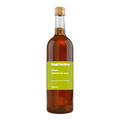 Unik Food, Hyldeblomst sirup Ø (750 ml)