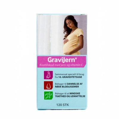 GraviJern Depottablet (120 kapsler)
