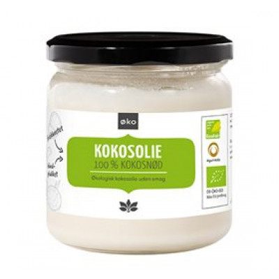 Cosmoveda Kokosolie Koldpresset Ø u. Smag (325 ml)