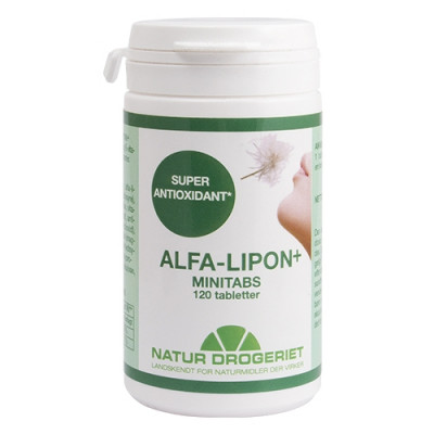 Naturdrogeriet Alfa Lipon tabletter (120 stk)