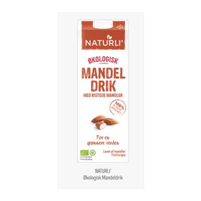 Naturli Mandeldrik Ø (1 liter)