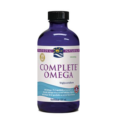 Nordic Naturals Omega 3-6-9 Complete flyd. m. citrussmag (237 ml.)