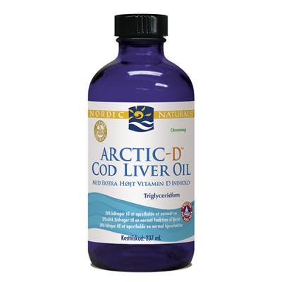 Nordic Naturals Torskelevertran D m.citrus Cod liver oil (237 ml)