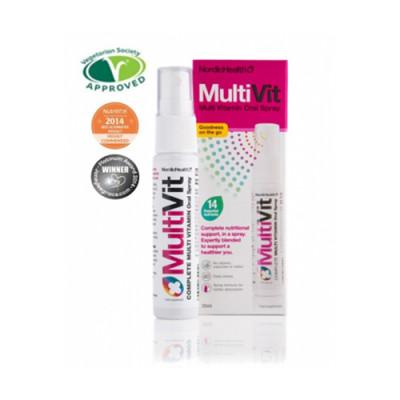 NordicHealth multivitamin- og mineral spray (25 ml)