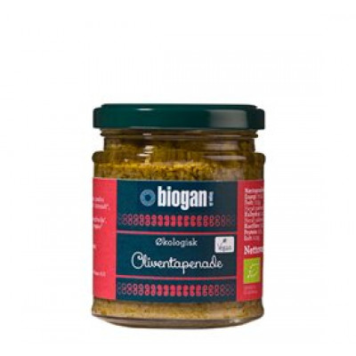 Biogan Oliven Tapenade Ø (190 gr)