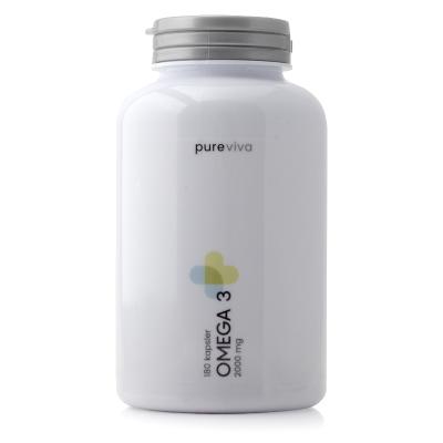 Pureviva Omega 3 1000mg (120 kap)