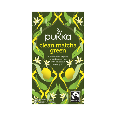 Vareprøve - Pukka Clean Matcha Green Tea - 1 br