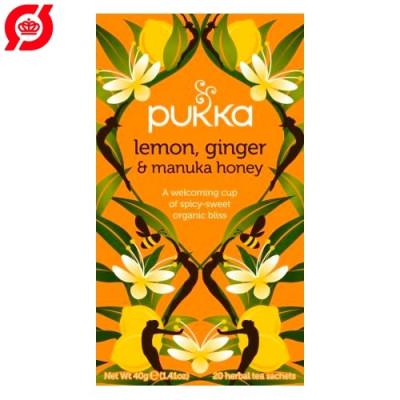 Pukka Te - Lemon, Ginger og Manuka Honey