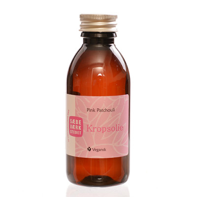 Sæbeværkstedet Pink Patchouli kropsolie (150 ml)