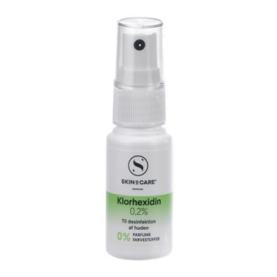 SkinOcare Klorhexidin Spray 0,2% - 30 ml.