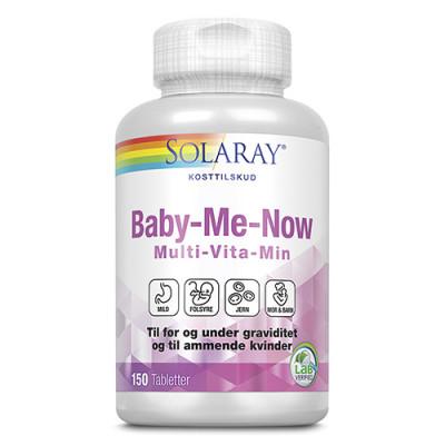 Solaray Baby-Me-Now Multi-Vitamin (150 tabletter)