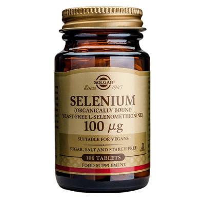 Solgar Selenium 100 mcg (100 tabletter)