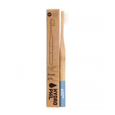 Organic Beauty Supply Bambus Tandbørste blå