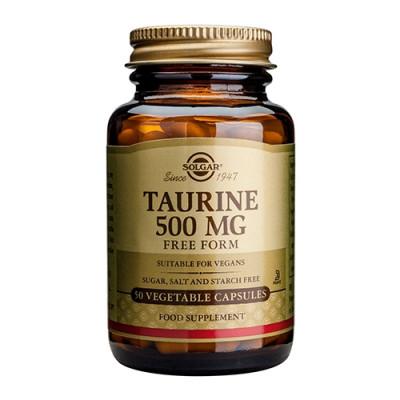 Solgar Taurine 500 mg (50 vegicaps)