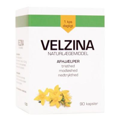 Velzina Hypericum 231-333 mg (90 kapsler)