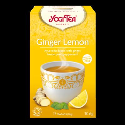 Yogi Tea Ginger Lemon Ø (17 breve)