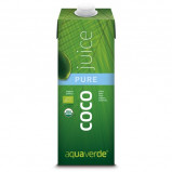 Kokosvand Aqua Verde Økologisk - 1 liter