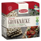 Knækbrød groft glutenfrit fra Semper - 215 gr