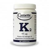 K2 vitamin fra Camette - 90 tabletter