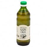 Rapsolie koldpresset økologisk - 500 ml