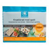 Fuldkornsknækbrød med spelt Urtekram Ølo - 250 gr