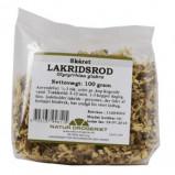 Lakridsrod skåret - 100 gram