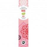 Rose Indisk røgelsespinde 18 stk.