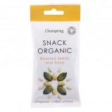 Ristede græskarkerner og soya Økologisk - 35 gram