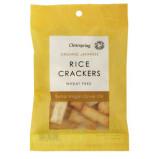 Rice Cracker Olivenolie og salt Øko. - 50 gram