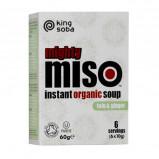 Instant Miso suppe Tofu & Ingefær Øko - 60 gram
