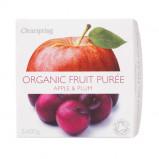 Frugtpuré Blomme og æble Økologisk - 200 gram