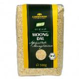 Mungbønner afskallede Moong Dal Dhuli Øko - 500 g