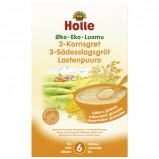 Holle 3-Kornsgrød økologisk fra 6 måneder 250 gr