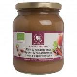 Æble & rabarbermos økologisk fra Urtekram - 360 gr