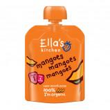 Babymos mango & mango 4 mdr Økologisk - 70 gram