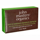 John Masters Birch & Cedarwood Shaving Bar - 128g