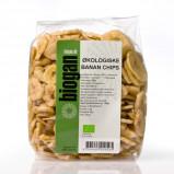 Bananchips Økologiske fra Biogan - 400 gram