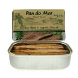 Sardiner i økologisk olivenolie - 120 gram