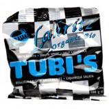 Lakrids skåret salt Tubis Øko - 100 gram