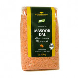 Røde linser Masoor Dal Økologiske - 500 gram