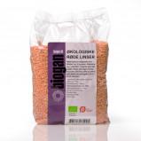 Røde Linser Økologiske - 750 gram