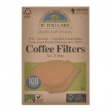 Kaffefiltre no. 4 ubleget økologiske - 100 stk.
