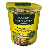 Couscous Ingefær & Citrongræs Instant Øko - 68 gr