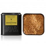 Sennepsfrø gule hele Ø fra Mill & Mortar - 70 gram