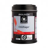 Chilliflager fra Urtekram Økologiske - 23 gram