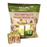 Rosiner økologiske i minipakker - 140 gram
