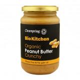 Peanut butter Crunchy Clearspring Øko - 350 gr